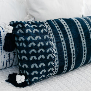 Darwin Shibori Pillow Cover