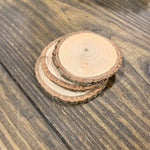 Wooden Coasters - Set of 3