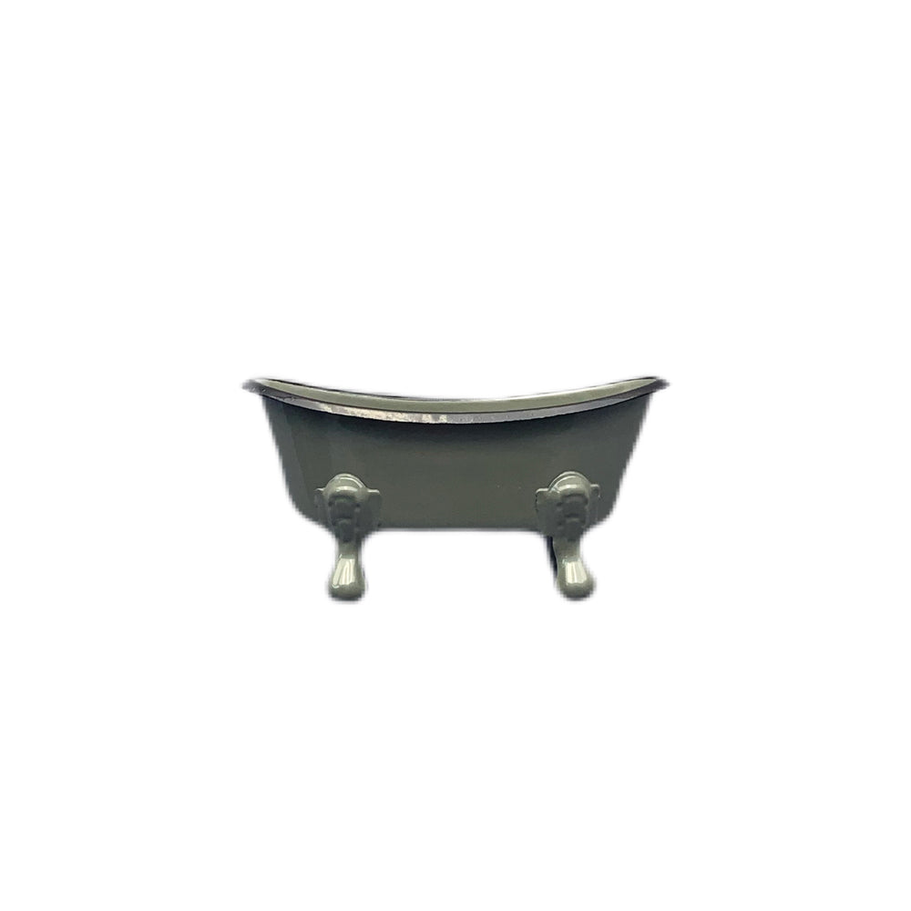 Tin Bathtub Soap Dish