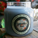 Lavender Love Candle - Lubella Candle Co.