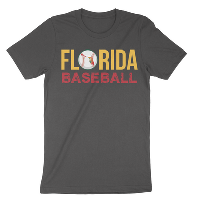 Florida Baseball State Inspired Men's T-Shirt