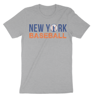 New York Baseball State Inspired Men's T-Shirt