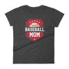 Women's Baseball Mom T-Shirt