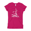 Girl's Throw Like A Girl T-Shirt
