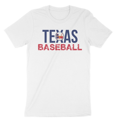 Texas Baseball State Inspired Men's T-Shirt