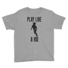 Play Like A Kid Youth Short Sleeve T-Shirt