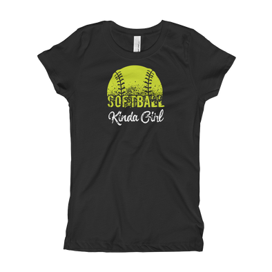 Softball Kinda Girl Girl's T-Shirt