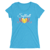 Softball Mom Ladies' Short Sleeve T-Shirt