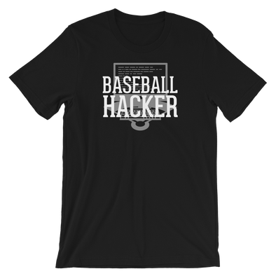 Baseball Hacker Analyst T-Shirt