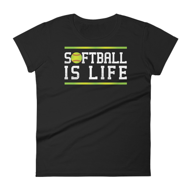 Softball Is Life Fastpitch Women's T-Shirt
