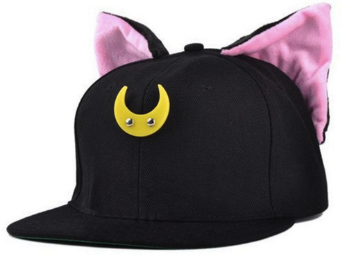 Sailor Moon Cat Snapback