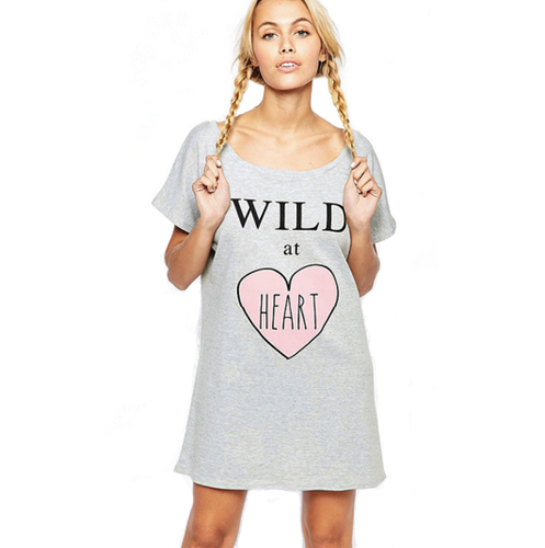 Wild at Heart Tshirt Dress