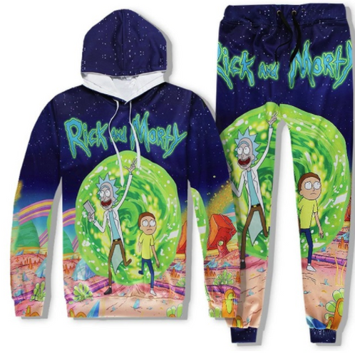 Ricky & Morty Tracksuit