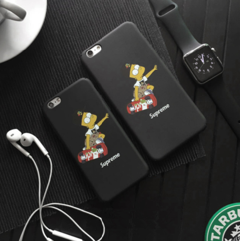 Supreme x The Simpsons iPhone Case