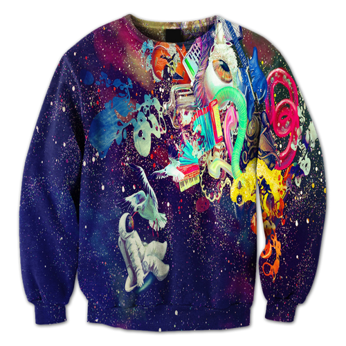 Abstract Space Crewneck