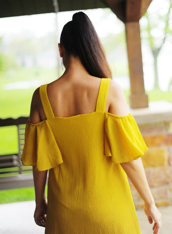 Mellow yellow dress mustard gracie lane boutique - Mellow yellow boutique ...