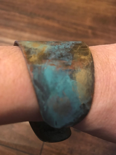 Bangle Bracelet-Turquoise multi