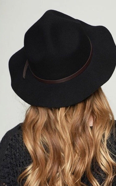 Montana Peak Hat-Black
