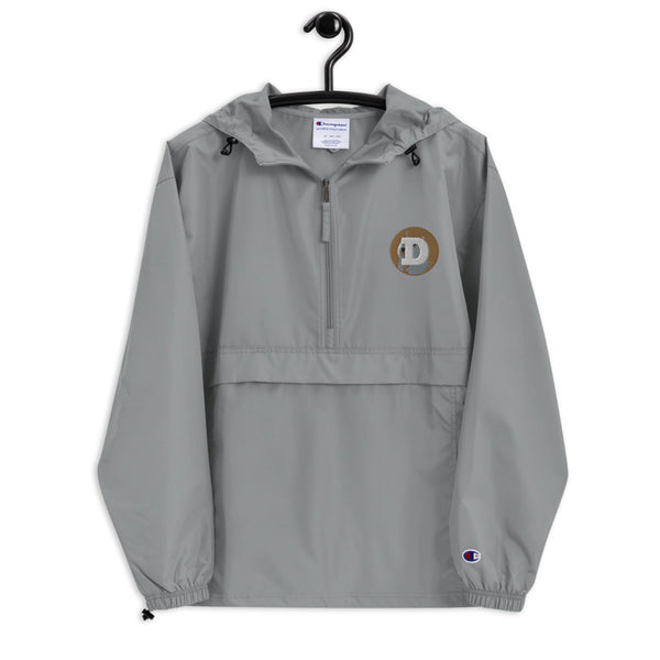DogeCoin Embroidered Champion Packable Jacket