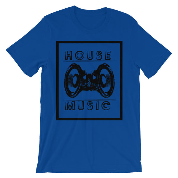 HOUSE MUSIC TEE by ND.ESIGN