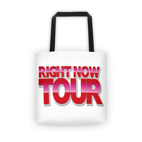 RNT Right Now Tour Tote bag