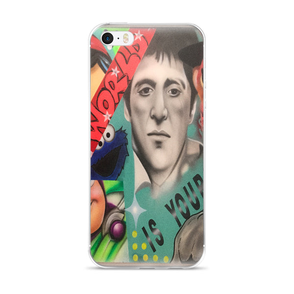 """The World Is Yours"" iPhone Case"