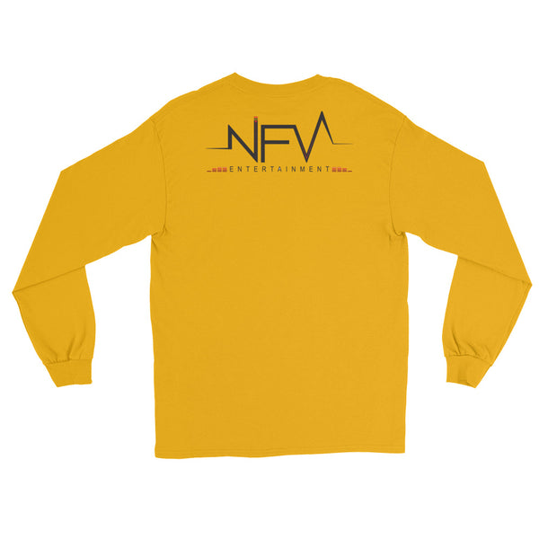 """ILLEAGLE - NFV Entertainment"" Double Sided Long Sleeve T-Shirt"