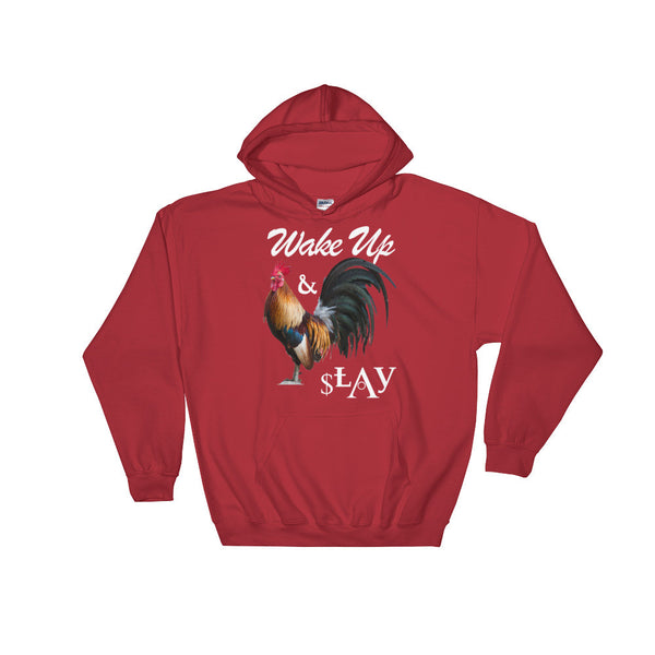 """WAKE UP & SLAY"" Hooded Sweatshirt"