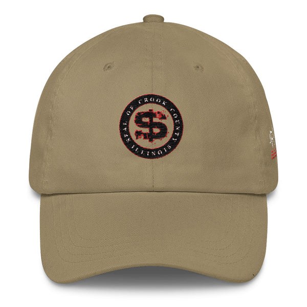 SEAL OF CROOK COUNTY ILLINOIS Classic Dad Cap
