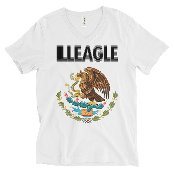 """ILLEAGLE"" Unisex Short Sleeve V-Neck T-Shirt"