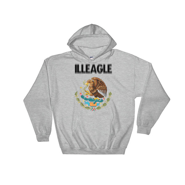 """ILLEAGLE"" Hooded Sweatshirt"