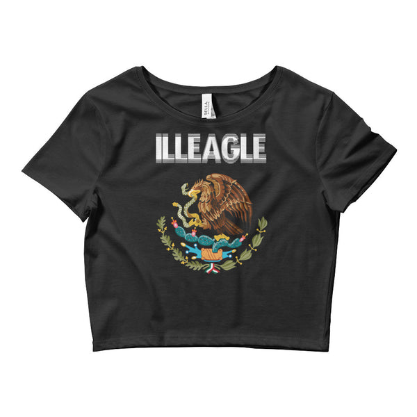 """ILLEAGLE"" Women's Crop Tee"