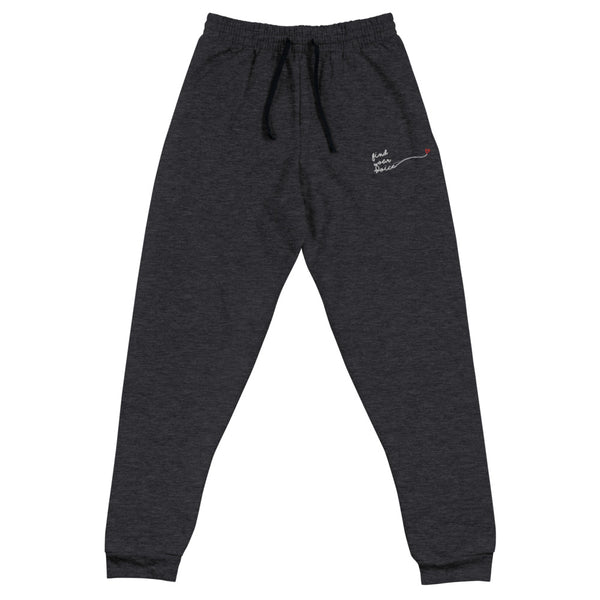 FIND YOUR VOICE Embroidered Unisex Joggers