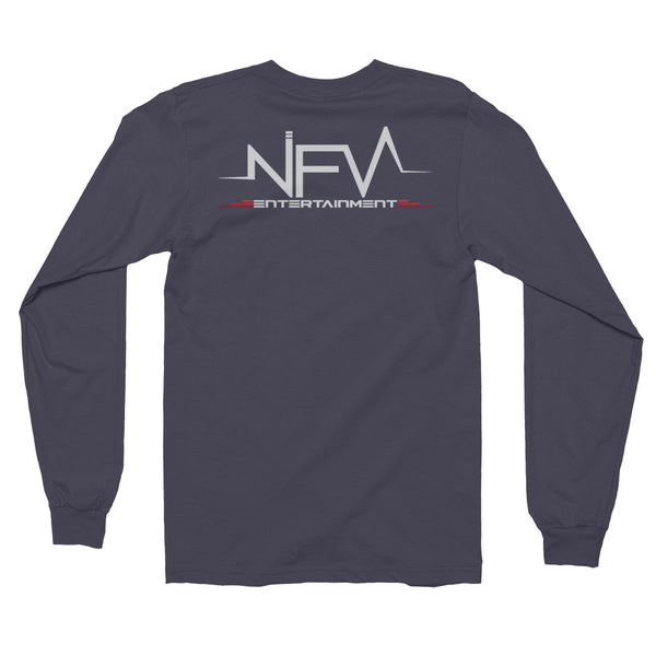"""SAVE, STUNT, STACK, SHINE, REPEAT"" Double Sided Long Sleeve T-Shirt"