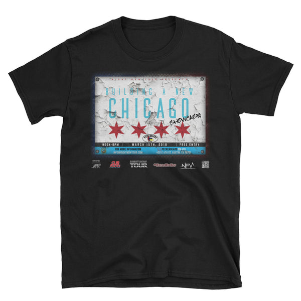 """Building A New Chicago Showcase Lineup"" Short-Sleeve Unisex T-Shirt"