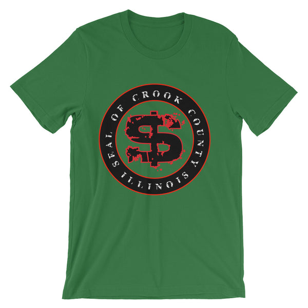 SEAL OF CROOK COUNTY ILLINOIS Unisex Short Sleeve T-shirt