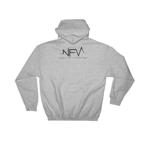 """FLY HIGH LAX-LGA"" Hooded Sweatshirt"