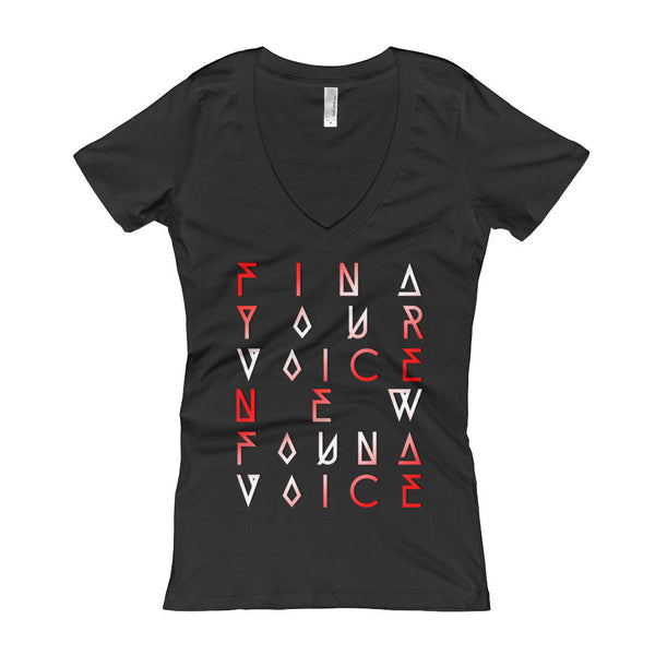 """FYVNFV"" Women's V-Neck T-shirt"