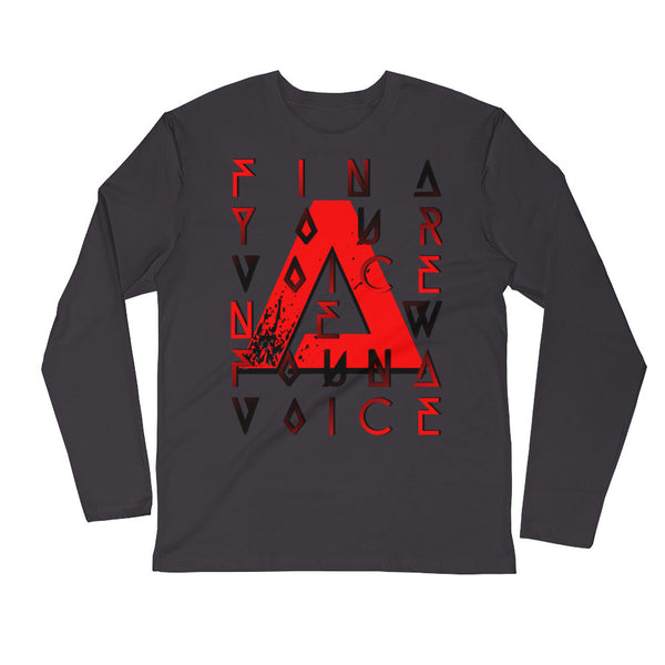 """FYVNFV"" Long Sleeve Fitted Crew"