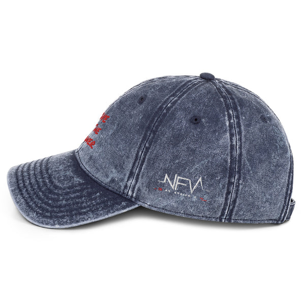 LOVE IS The Answer NFV Logo Vintage Cotton Twill Cap