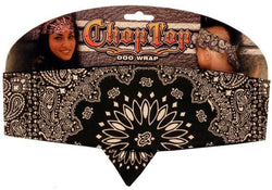 Chop Top-Black Paisley (Imported)