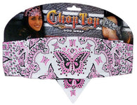 Chop Top-Butterfly Girl Pink w/ Rhinestones (Imported)