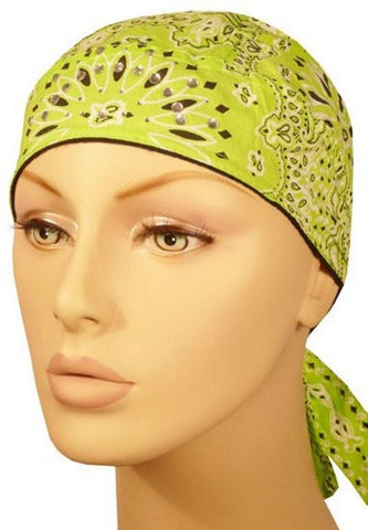 Danbanna Deluxe-Lime Paisley w/ Rhinestones (Imported)