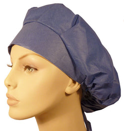 Disposable Banded Bouffant-Windsor Blue 25 pcs.