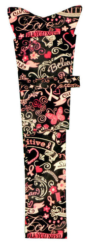 Stethoscope Cover-Pink Ribbon Collage