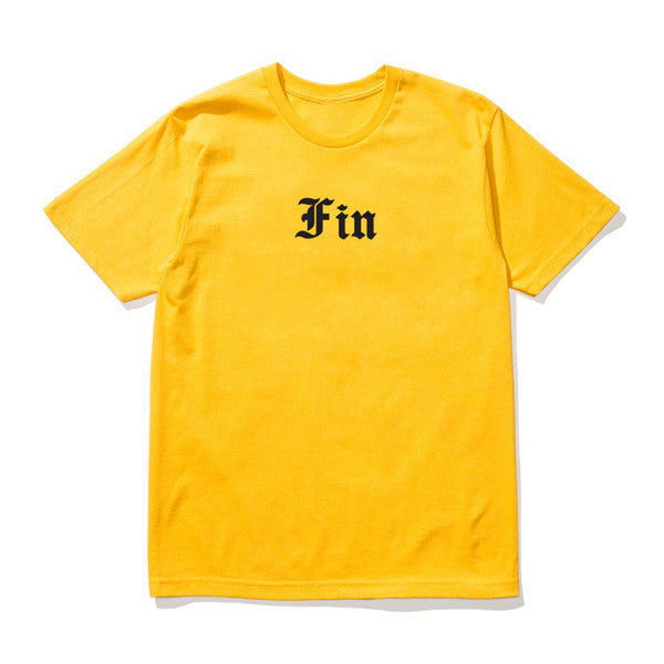 YELLOW FIN ENGLISH TEE