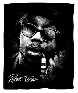 Iconic Peter Tosh Throw Blanket  -  LIMITED TIME AVAILABILITY  -   PRE ORDER SPECIAL