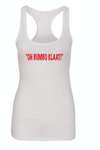 Oh Bumbo Klaat White Tank (Ladies)