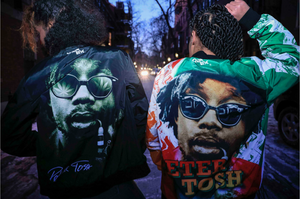PETER TOSH CHALK LINE LEGENDS FANIMATION JACKET - Equal Rights Line