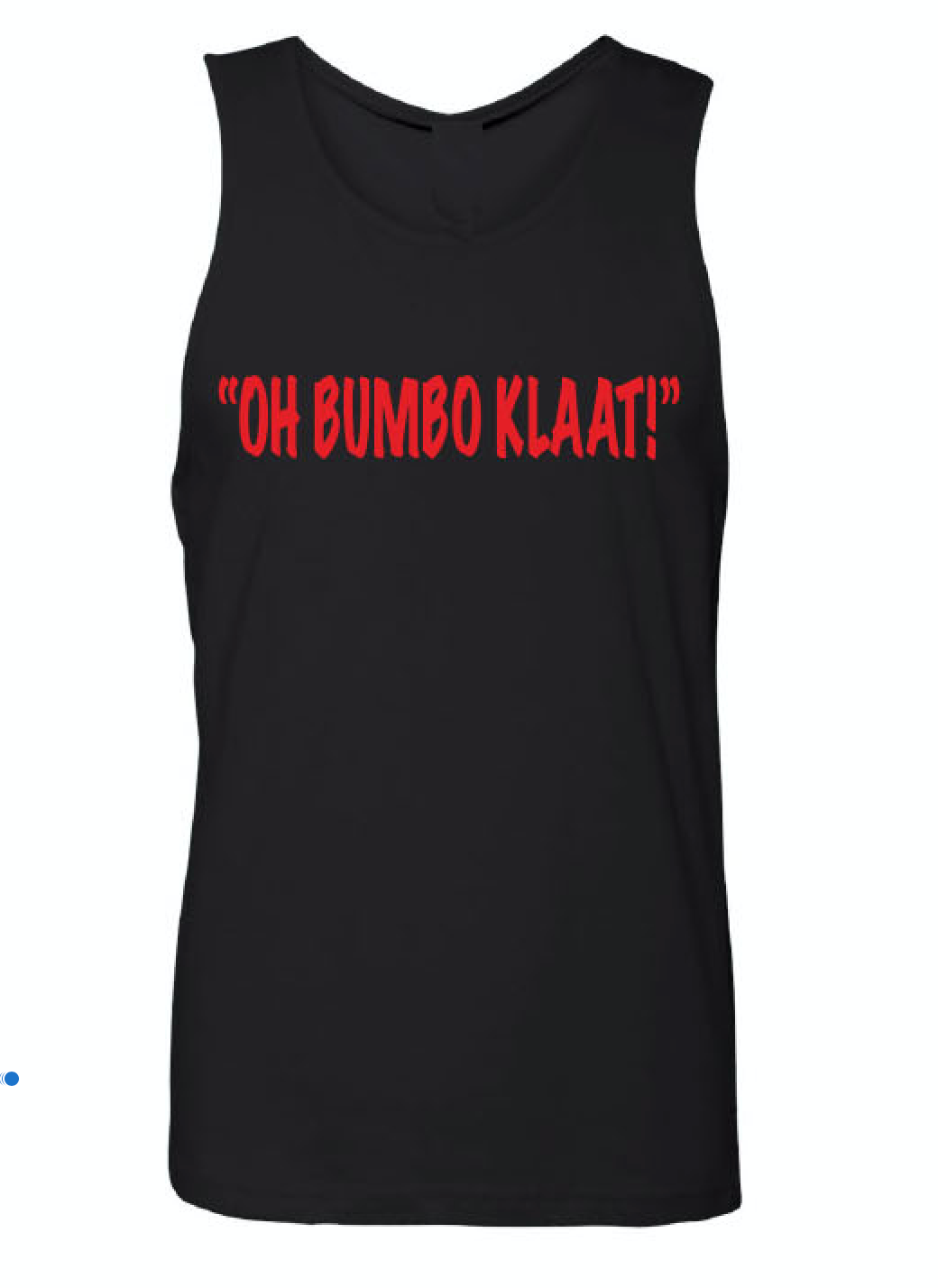 Oh Bumbo Klaat Black Tank (Mens)